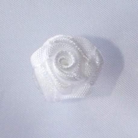 Haarbloem wit 1,5 cm