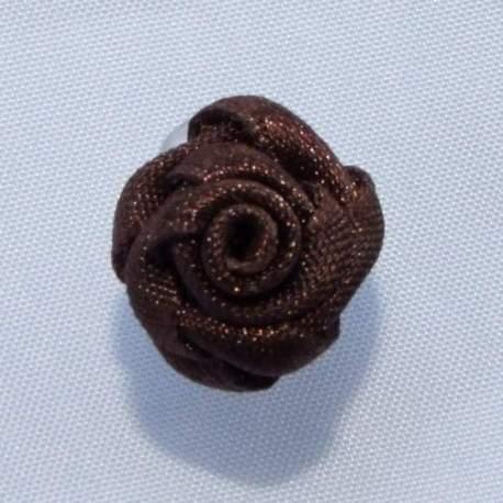 Haarbloem bruin 1,5 cm