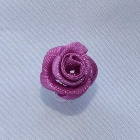 Haarbloem lila 1,5 cm.