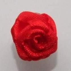 Haarbloem rood 1,5 cm