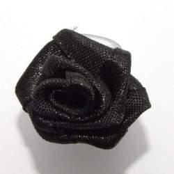 Haarbloem zwart 2 cm