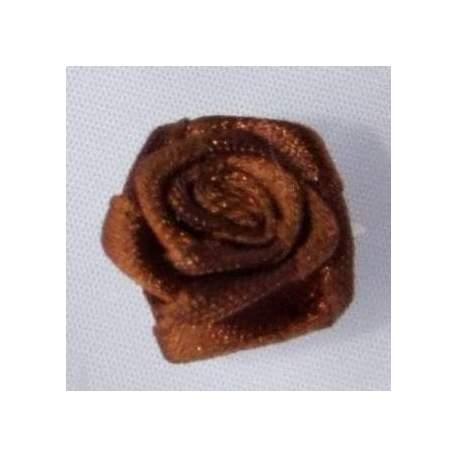 Haarbloem middenbruin 1,5 cm