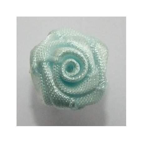 Haarbloem licht blauw 1,5 cm.
