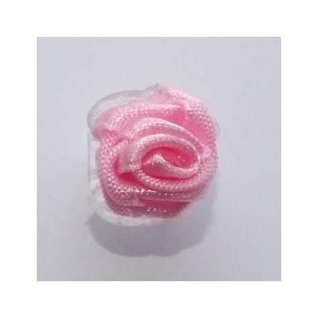 Haarbloem roze 1,5 cm. 84