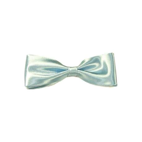 Junior - heren vlinderstrik licht blauw