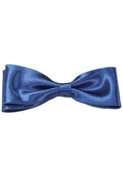 Junior - heren vlinderstrik kobalt blauw