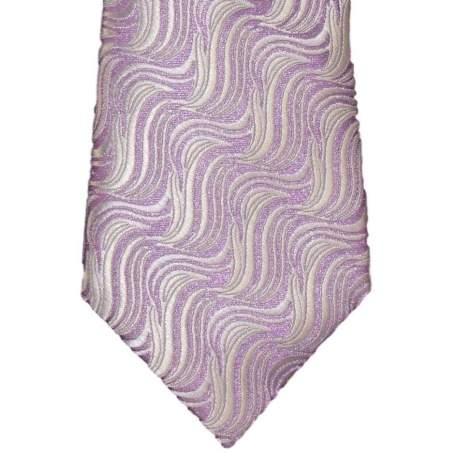 Kinderstropdas grijs met paars 27 cm.