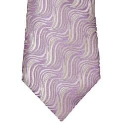 Kinderstropdas grijs met paars 32 cm.