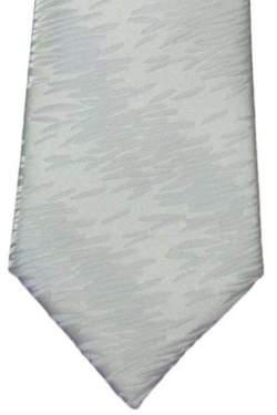 Luxe heren-junior stropdas wit 2