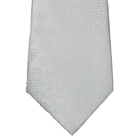 Kinderstropdas off-white met fijn bloem motief 32 cm.