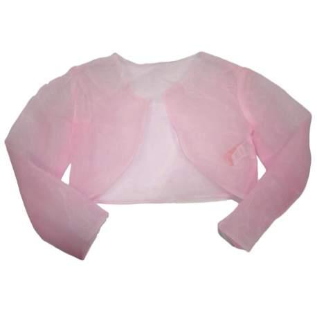 Roze organza bolero