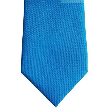 Babystropdas effen blauw