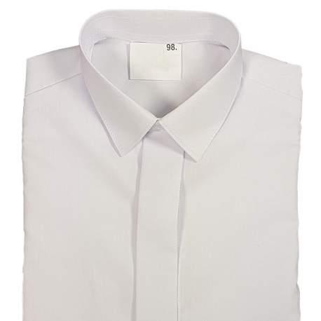 Jongensoverhemd wit H