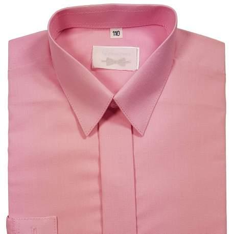 Jongensoverhemd roze