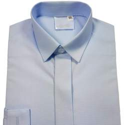 Jongensoverhemd lichtblauw 3126