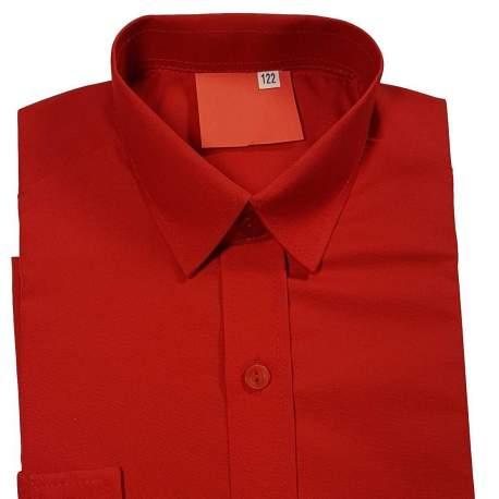 Getailleerd rood overhemd