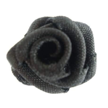 Haarbloem zwart 1,5 cm