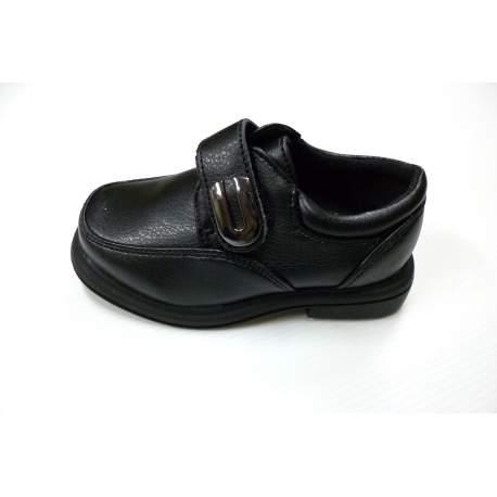 Nette zwarte jongensschoen voor peuters model 105-B