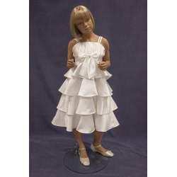 Bruidsmeisjes jurk Marit ivoor