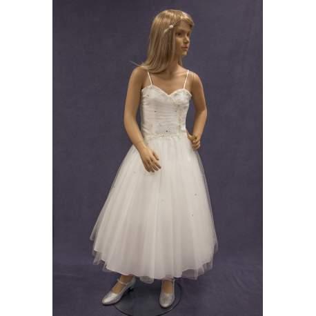 Bruidsmeisjes jurk Fenna ivoor