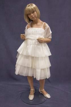 Bruidsmeisjes jurk Charly ivoor
