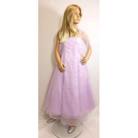 Meisjes feestjurk Viola lila