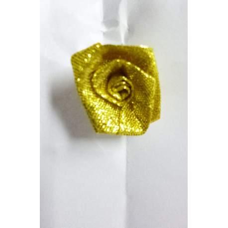 Haarsteker met gouden roosje 5 stuks