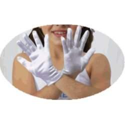 Glans satijnen handschoen