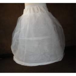 Meisjes petticoat met hoepel