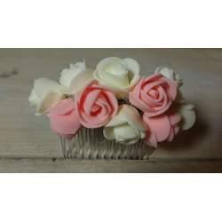 Kam met bloemen