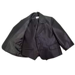 Zwart jongenskostuum glitter.