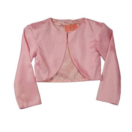 Roze bolero van taft