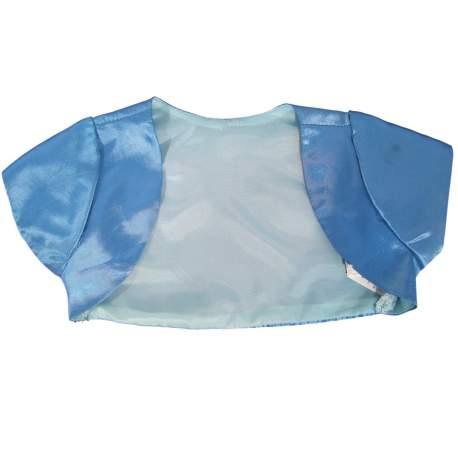 Bolero turquoise korte mouw