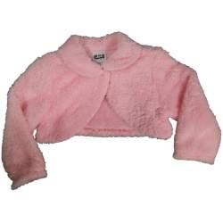 Wollig bolero-jasje roze