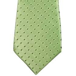 Stropdas 32 cm. groen