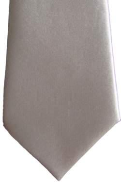 Zilverkleurig baby stropdasje