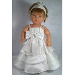 Baby feestjurk Marit ivoor