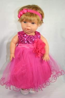 Babyjurkje Lara fuchsia