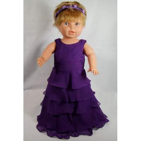 Baby feestjurk Wendy paars