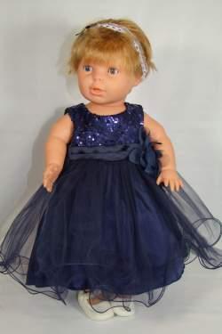 Babyjurkje Lara donkerblauw