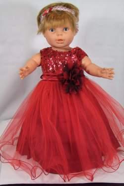 Babyjurkje Lara rood