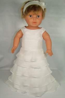 Baby feest jurkje Wendy ivoor