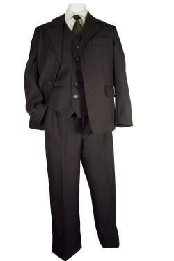 Kostuum N&J donkerbruin