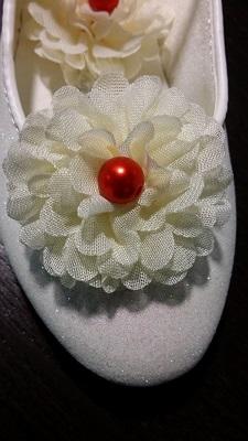 Ballerina schoentje met kleuraccent